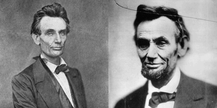 President Abraham Lincoln Before and After the Civil War