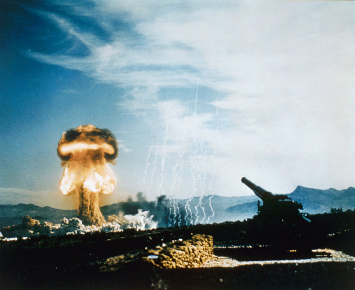 Nuclear Test Site in Nevada