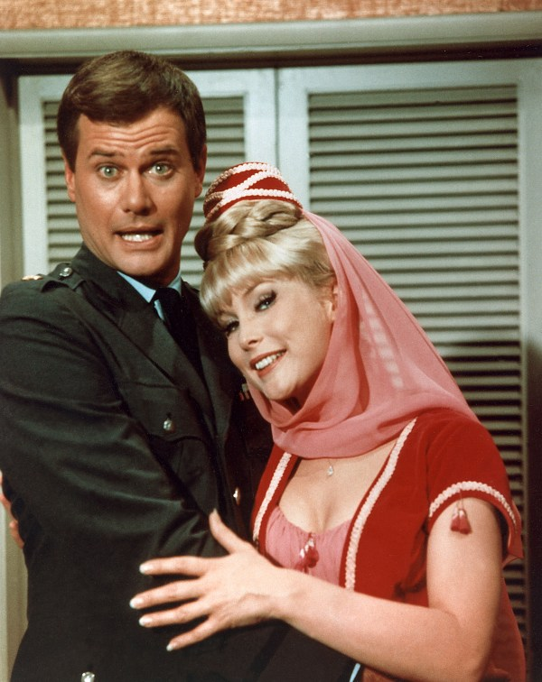 Barbara Elder and Larry Hagman