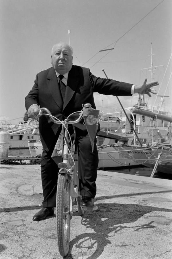 Alfred Hitchcock at the Cannes Film Festival