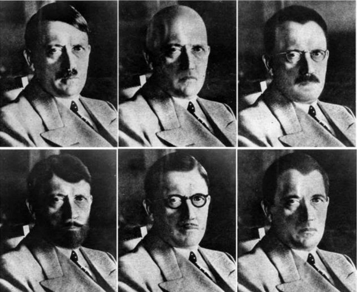 Series of Pictures of Adolf Hitler in Possible Disguise