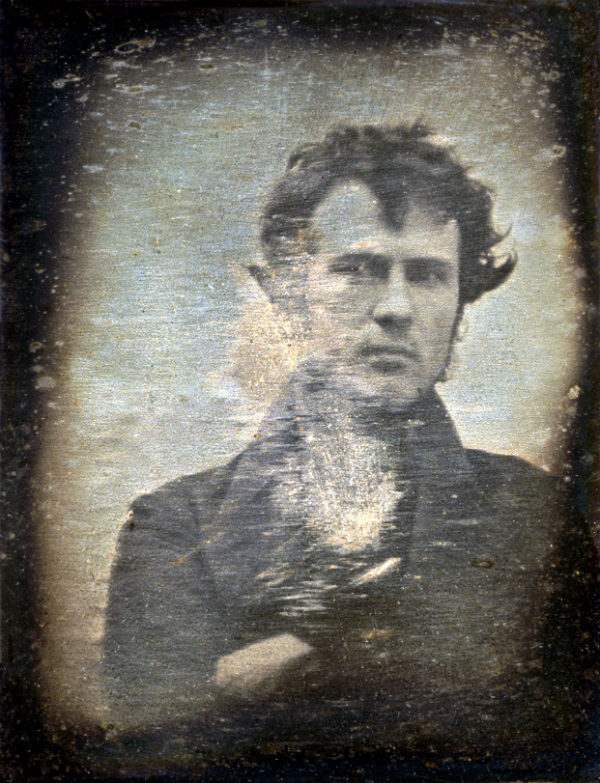 First Selfie in the 1800s of Robert Cornelius