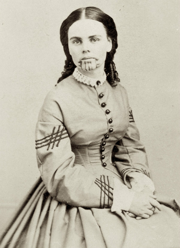 Olive Oatman Tatoo