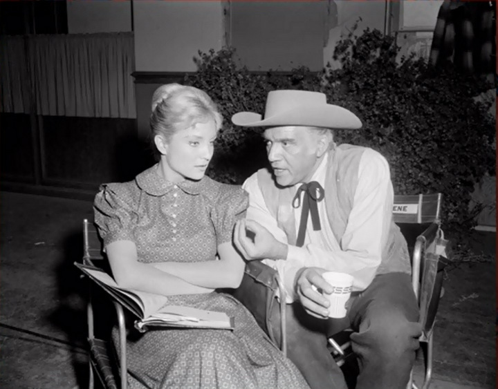 Lorne Greene and Woman
