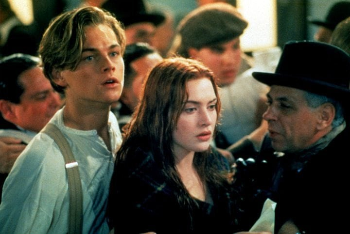 leonardo dicaprio kate winslet titanic movie mistakes errors