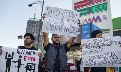 gas protest in Mexico