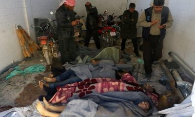 Victims of Syrian chemical attack