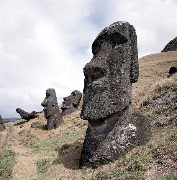archaeological easter island