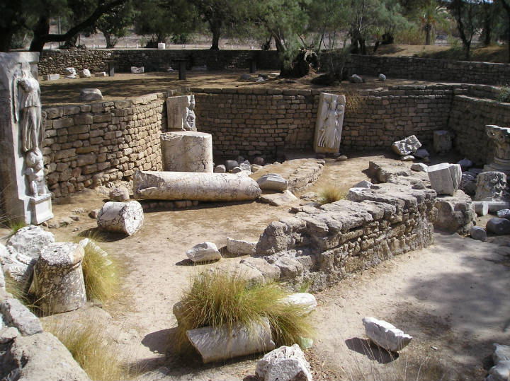 ashkelon israel ruins archaeological