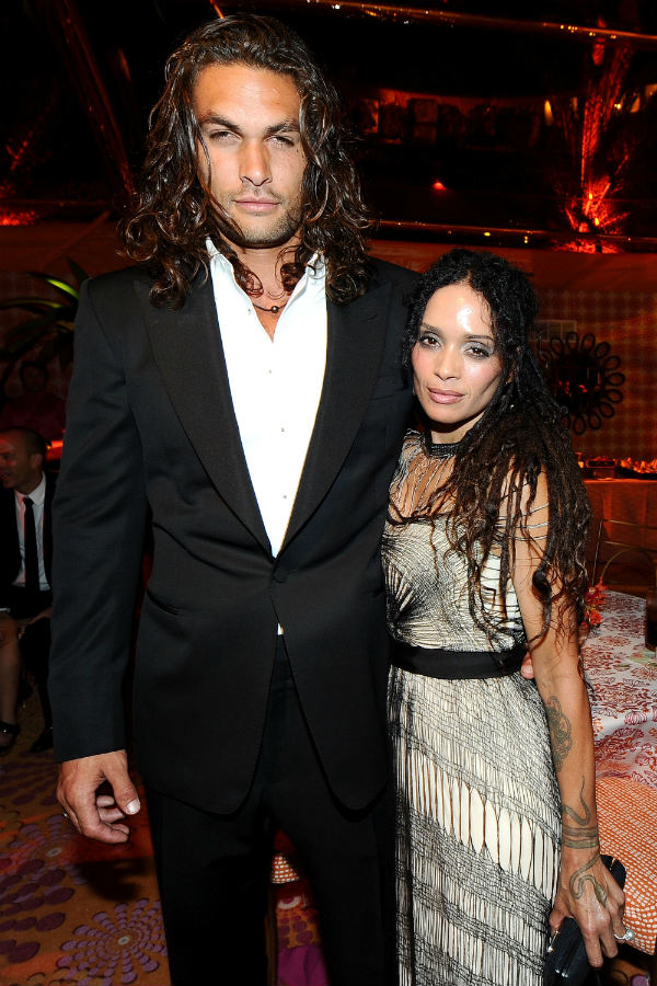 Jason Momoa and Lis Bonet