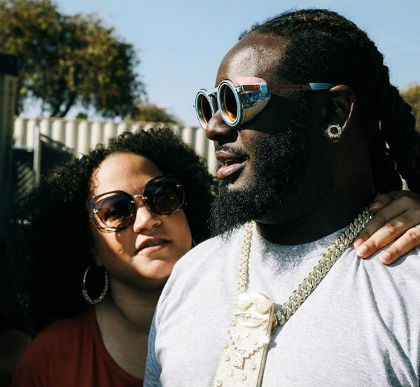 T Pain and Amber Najm