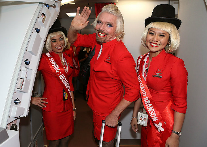 richard branson virgin air