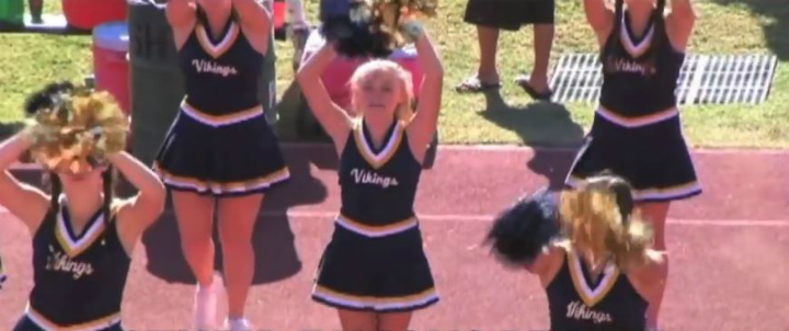 Celebrities who used to be cheerleaders