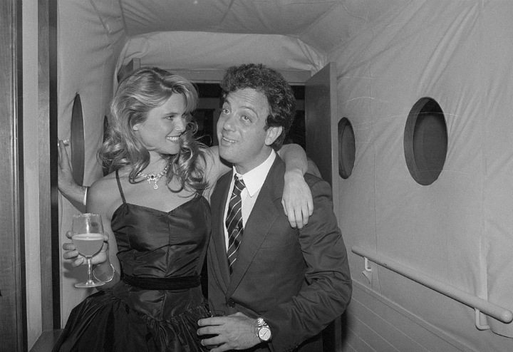 Christie Brinkley and Billy Joel