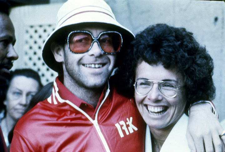 Elton John Billie Jean King
