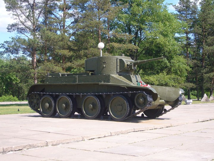 Tank - Tank on Display