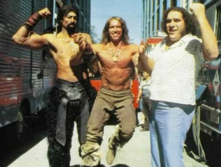 Conan the Destroyer Andre the Giant