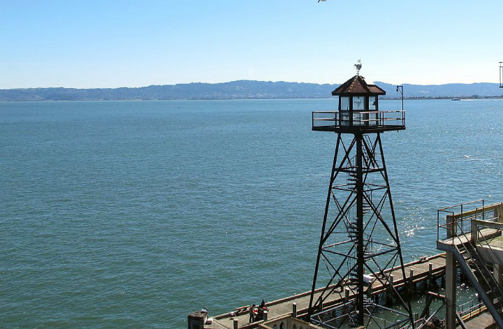 alcatraz guard tower