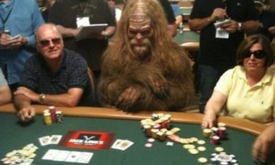 bigfoot sasquatch gambling casino las vegas nevada funny awkward weird