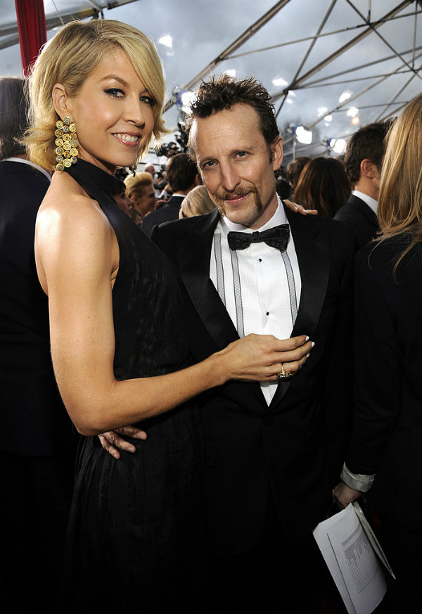 Jenna Elfman and Bodhi Elfman height difference