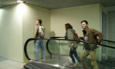 escalator construction fails contractor fails