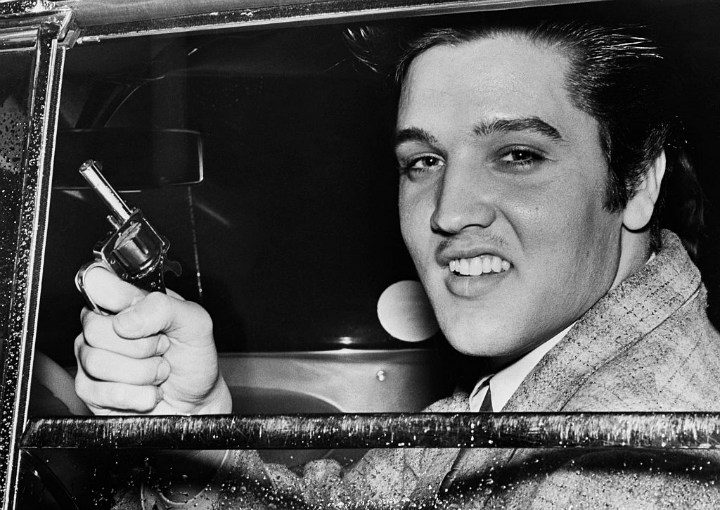 Elvis Presley Loved Guns