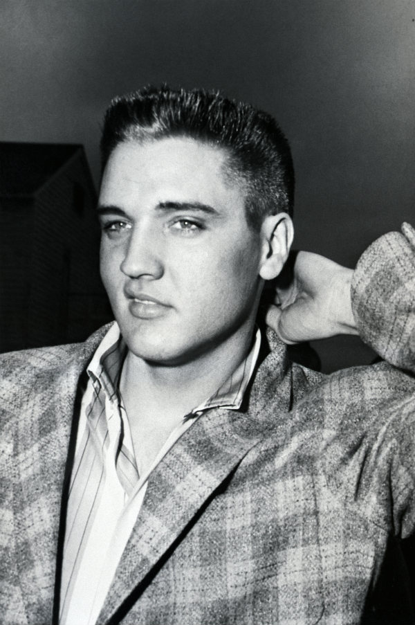 Elvis Presley Haircut and Eyebrows