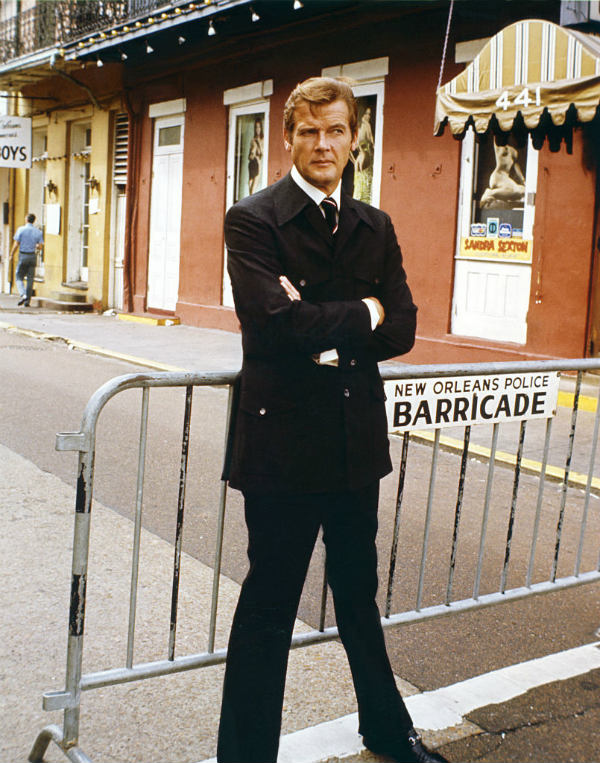 sir roger moore james bond married... with children