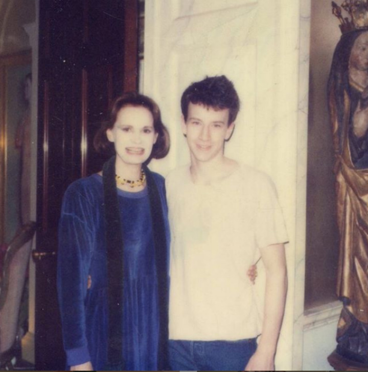 Anderson Cooper and mom