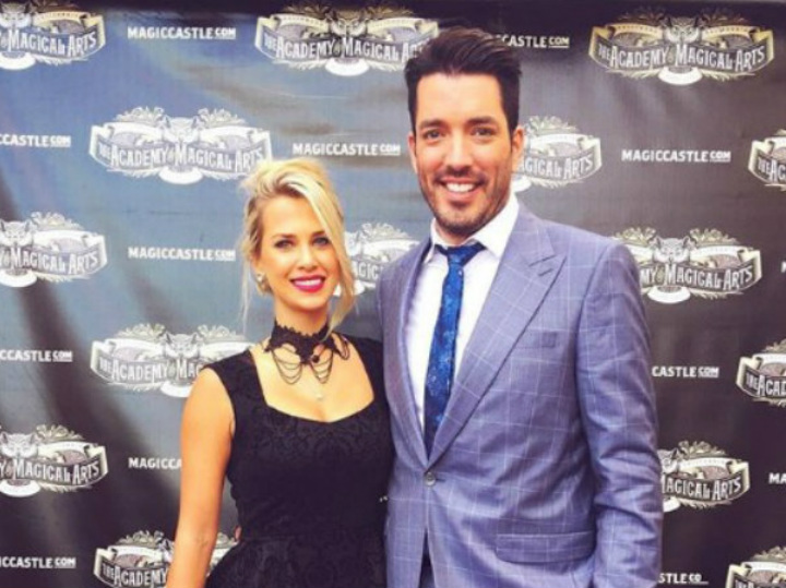 Jonathan Scott and Jacinta Kuznetsov on the Red Carpet
