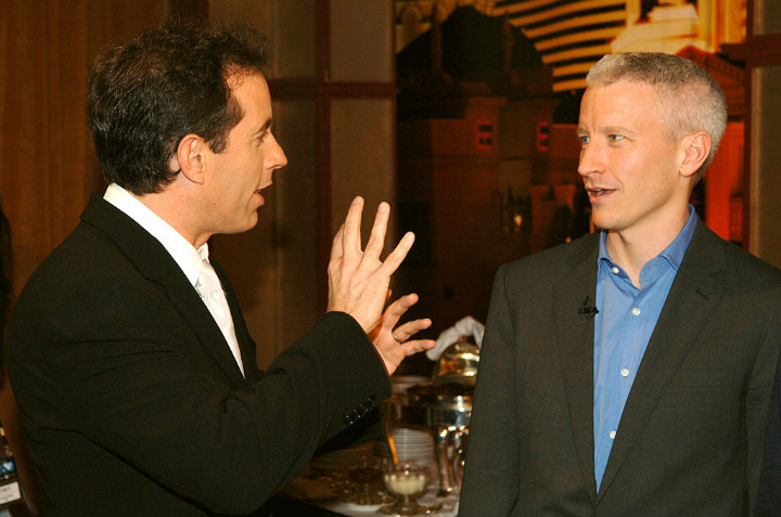 Anderson Cooper and Seinfeld
