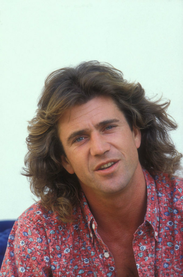 Mel Gibson young