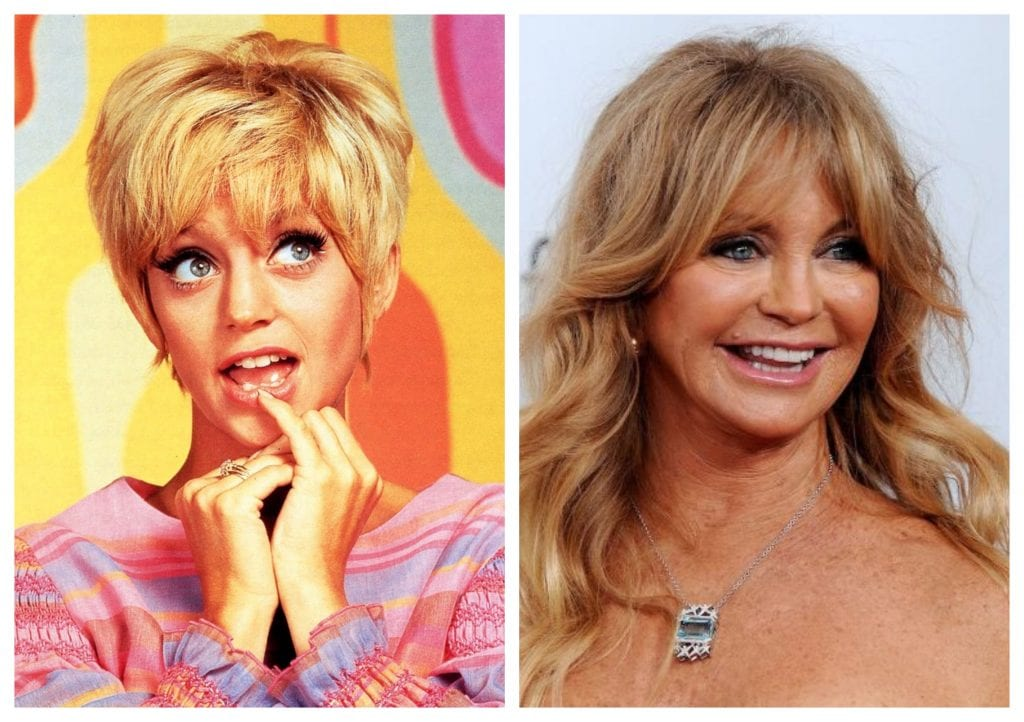 '60s icons - Goldie Hawn