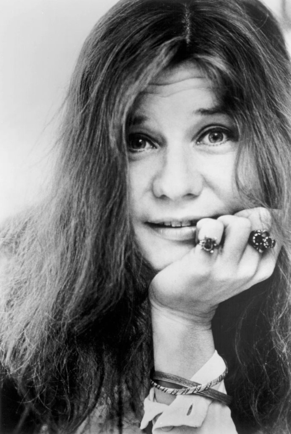 Janis Joplin - celebrity hippies