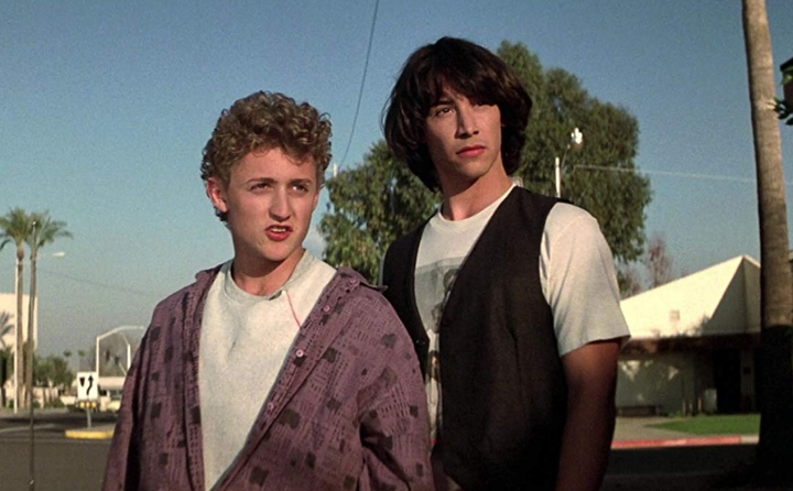 Bill & Ted movie to tv adaptation