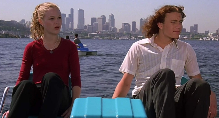 movie to tv adaptation - heath ledger & julie stiles