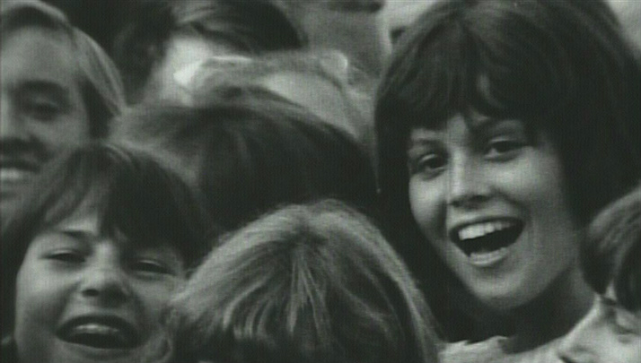 Sigourney Weaver at Beatles Concert