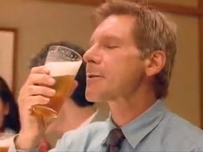 harrison ford beer