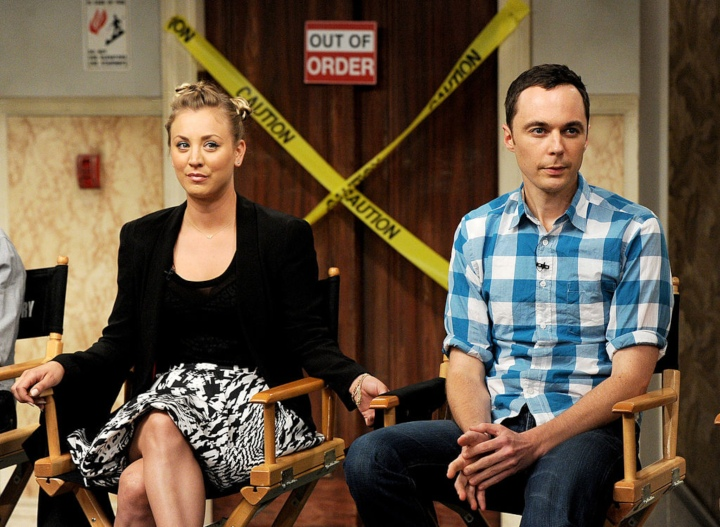 big bang theory kaley cuoco jim parsons