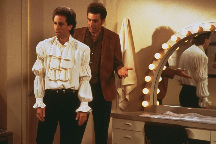 seinfeld puffy shirt born