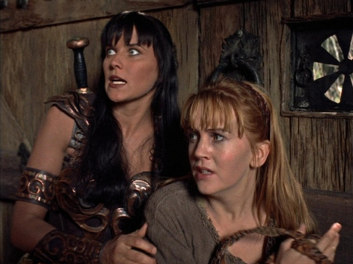 xena warrior princess changed plotlines