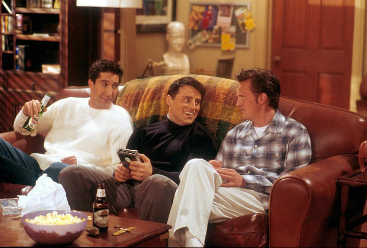 Ross, Joey and Chandler discuss the future