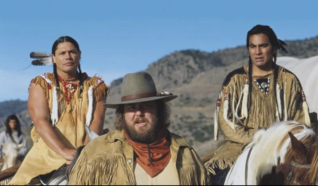 Still Frame from Wagons East