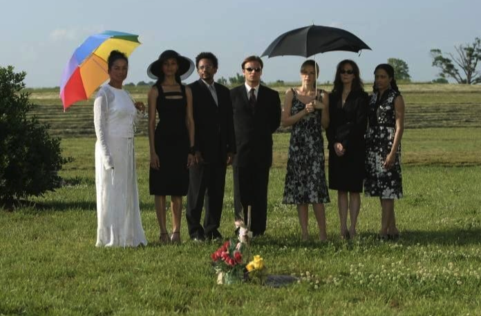 Still of the cast from the movie Constellation