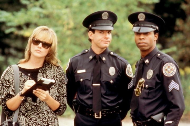 police academy officers lowest rated movies