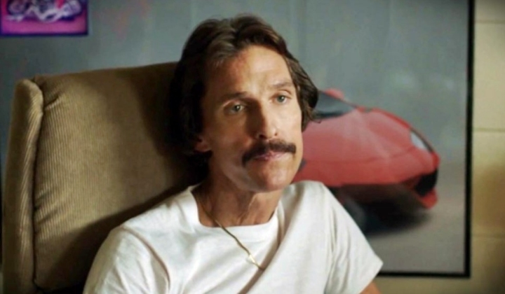 Ron in Dallas Buyers Club, production mistakes