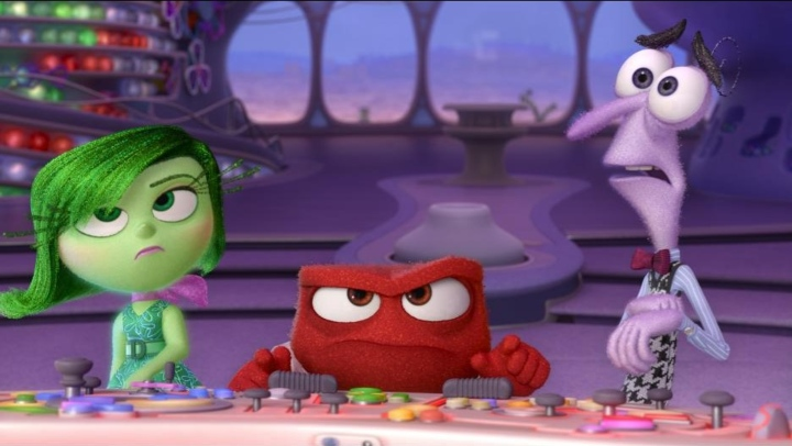 Inside Out, hilarious title