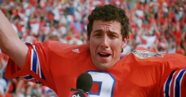 The Waterboy, hilarious title