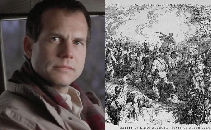 Bill Paxton and Benjamin Sharp, historical ancestor