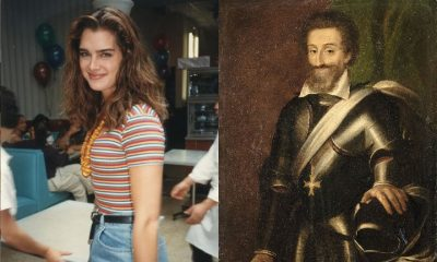 Brooke Shields and Henry IV, historic ancestors